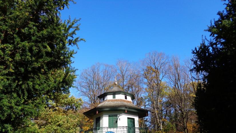 XIX-wieczny Domek Chiński w Parku Żywieckim