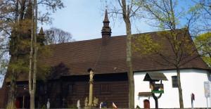 Drewniany kościół w Orawce