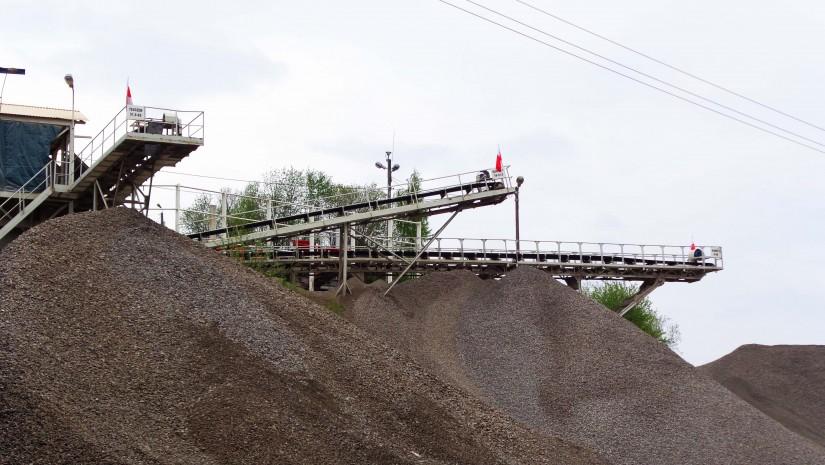 Kamieniołom po drodze z Dzięgielowa na Górę Tuł.
