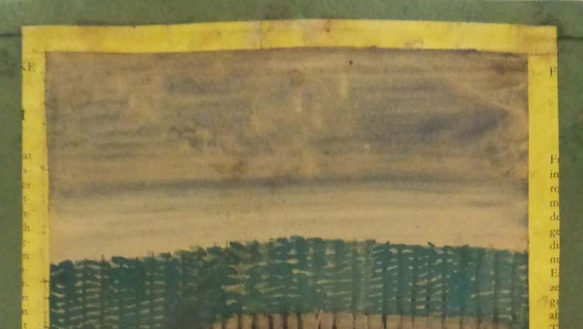 """Malarz miał poczucie humoru i często z siebie żartował. Ten obraz podpisał """"Nikifor Matejko""""."""