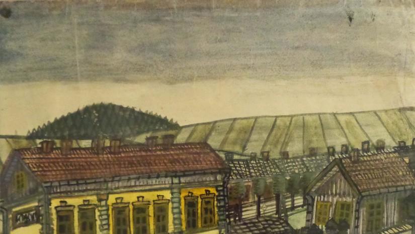 """""""Stacja kolejowa Krosno""""."""