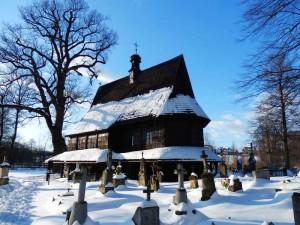 Drewniany kościół z XV w. pw. Św. Leonarda w Lipnicy Murowanej