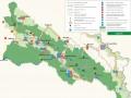 Mapa Bieszczadzkiego Parku Narodowego