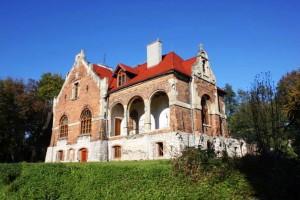 Pałac zaprojektowany przez Teodora Talowskiego w Michałowicach pod Krakowem