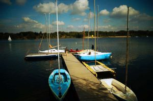 Przystań Navigare Yacht Clubu w Kryspinowie