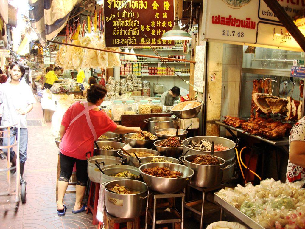 Bazar Talaad Kao - Chinatown - Bangkok